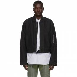 Fear Of God Black Sixth Collection Bomber Jacket 6F19-6019CNV