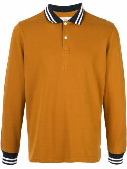 Kent & Curwen рубашка-поло с контрастной отделкой K40H8A114086