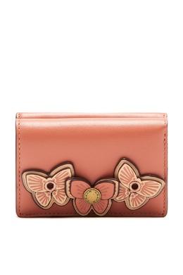 Кошелек с декором в виде бабочек Coach 2219156546