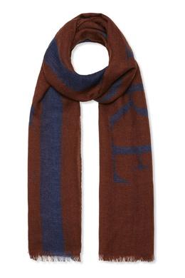 Коричневый шарф с логотипом Billionaire 1668156165