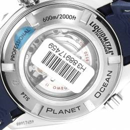 Omega Blue Titanium Seamaster Planet Ocean 232.92.38.20.03.001 Men's Wristwatch 37.5 MM 231851