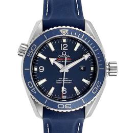 Omega Blue Stainless Steel Seamaster Planet Ocean 37.50 Watch 232.92.38.20.03.001 Men's Wristwatch 37.5 MM 231848