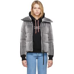 Moncler Silver Down Bandama Jacket E20934684885C0292