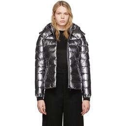 Moncler Silver Down Bady Jacket E20934688405C0291