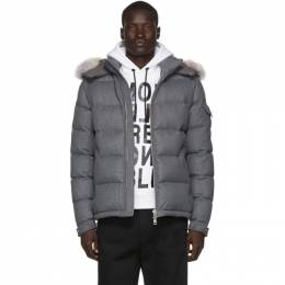 Moncler Grey Down Allemand Jacket 192111M17804001GB