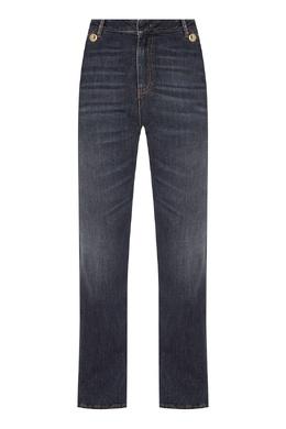 Прямые темно-синие джинсы с заломами Dorothee Schumacher 1512156306