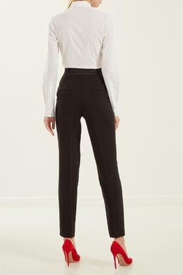 Черные брюки с декоративным поясом Alexander Terekhov 7494785