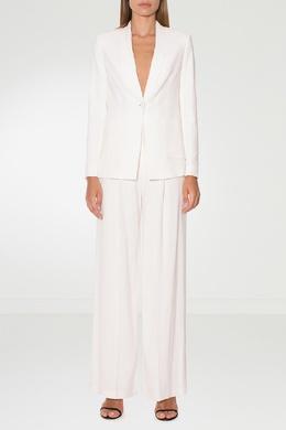 Фактурные белые брюки Alexander Terekhov 74133073