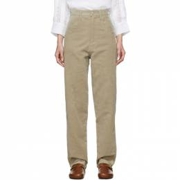 Isabel Marant Beige Relaxed Debora Trousers 192600F08702005GB
