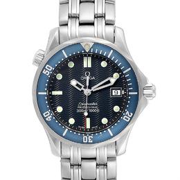 Omega Blue Stainless Steel Seamaster James Bond 2561.80.00 Men's Wriswatch 36 MM 232688