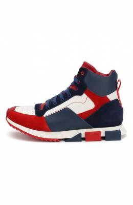 Кожаные кроссовки Dolce & Gabbana DA0740/AA114/37-39