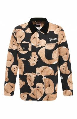 Хлопковая куртка Palm Angels PMYE005E196180069900