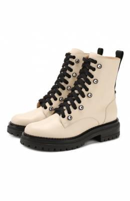 Кожаные ботинки Sergio Rossi A85210-MMV120