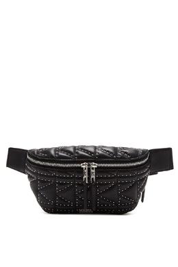 Черная поясная сумка с заклепками Karl Lagerfeld 682157139