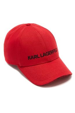 Красная бейсболка с вышитым логотипом Karl Lagerfeld 682157077
