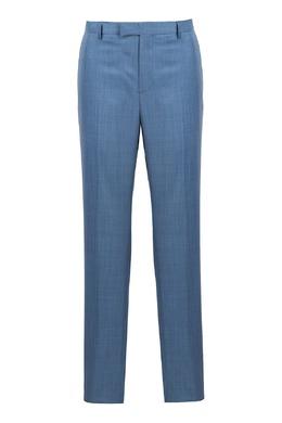 Приталенные светло-синие брюки Strellson 585157010