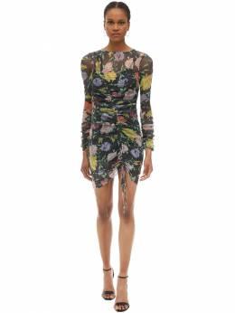 Платье Из Люрекса Alice Mccall 70IRTG022-QkxBQ0sgRkxPUkFM0