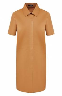 Кожаное платье Theory J0600602