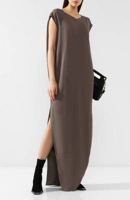 Платье-макси Rick Owens RP19F5506/HY