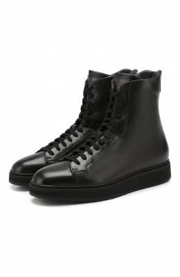 Кожаные ботинки Santoni WBDP60434NE0RKEIN01