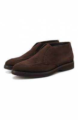 Замшевые ботинки Doucal's DU2503CALVUM009TM00