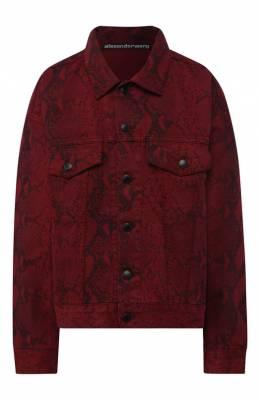 Джинсовая куртка Denim X Alexander Wang 4DC2192472