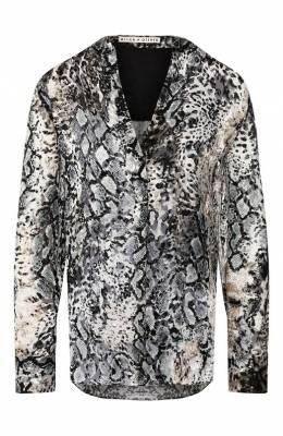 Блузка с принтом Alice + Olivia CC907B04004