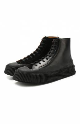 Кожаные ботинки Jil Sander JI32536A-10050