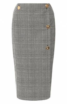 Шерстяная юбка Versace A84619/A216676