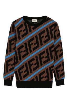 Шерстяной пуловер Fendi JMG051/A8L7/6A-8A