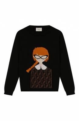 Кашемировый пуловер Fendi JFG053/A8L7/10A-12+
