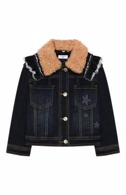 Джинсовая куртка Monnalisa 194109RJ