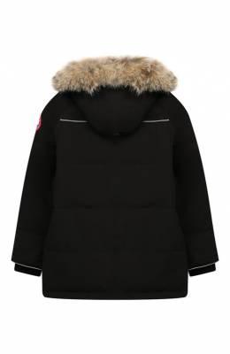 Пуховая куртка Eakin с меховой отделкой на капюшоне Canada Goose 4597Y