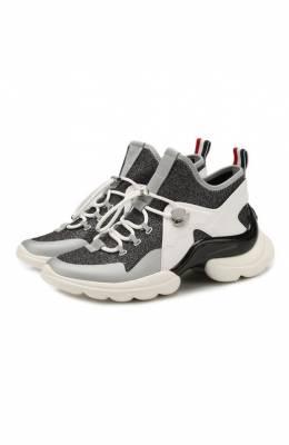 Текстильные кроссовки Thelma Moncler E2-09A-20583-00-01AM1