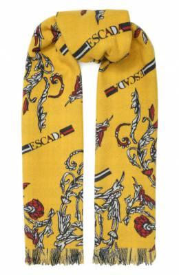 Шерстяной шарф Escada Sport 5031480