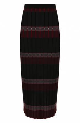 Юбка из смеси шерсти и вискозы Marni G0MD0027Q0/FW618