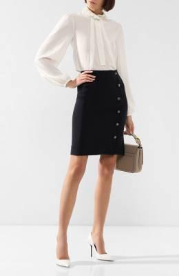 Шерстяная юбка Chloe CHC19WJU33062