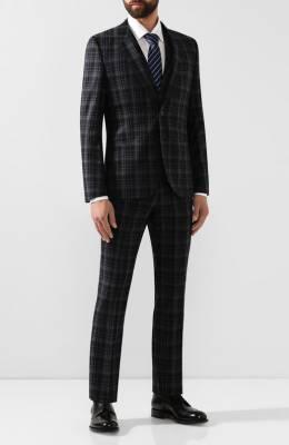 Шерстяной костюм-тройка Hugo 50417296