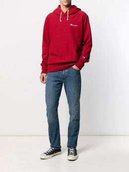 Champion embroidered logo hoodie 213735