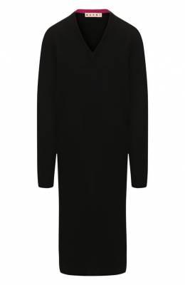 Кашемировое платье Marni ABMD0040Q0/FX305