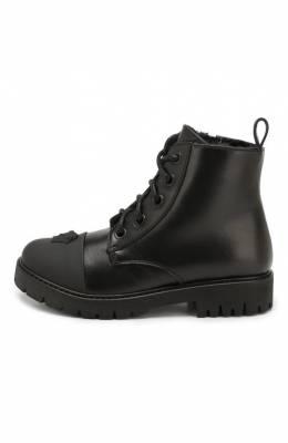 Кожаные ботинки Versace YHF00013/YB00145/25-29
