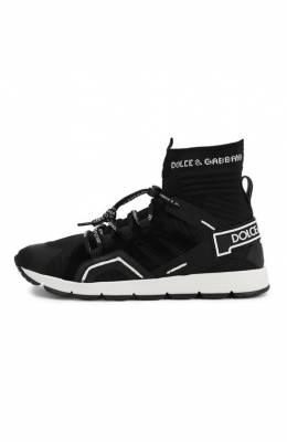 Текстильные кроссовки Dolce & Gabbana DA0774/AA908/37-39