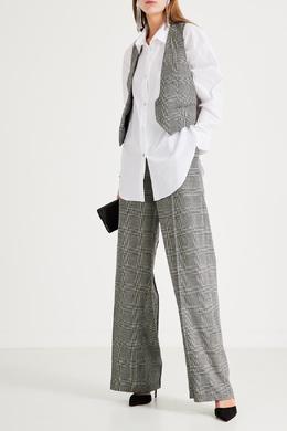 Белая рубашка с нагрудным карманом Alexandre Vauthier 356156947