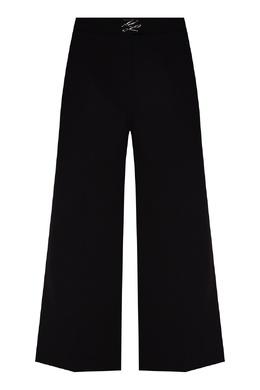 Черные кюлоты с логотипом Karl Lagerfeld 682156978