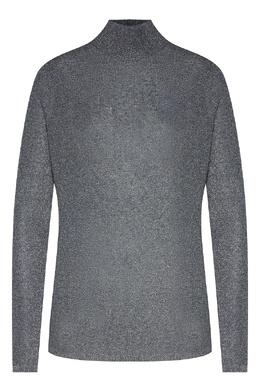 Серый свитер с блестящей отделкой Karl Lagerfeld 682157002
