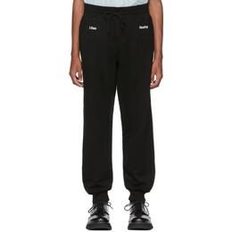 Undercover Black A Clockwork Orange Print Lounge Pants 192414M19000504GB