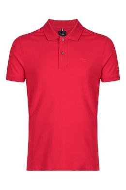 Однотонное красное поло Strellson 585157812