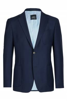 Темно-синий пиджак с накладными карманами Strellson 585157847