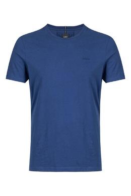 Темно-синяя футболка из хлопка Strellson 585157839