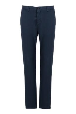 Синие однотонные брюки Strellson 585157879